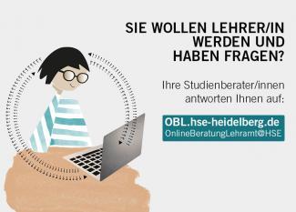 Grafik HSE OnlineBeratungLehramt mit CTA