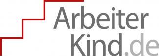 Rote Treppe mit Schriftzug ArbeiterKind.de