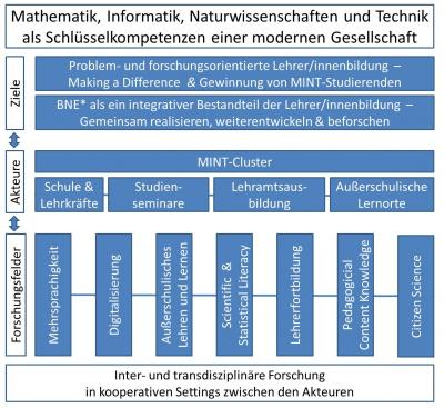 Abbildung HSE heiEDUCATION-Cluster MINT