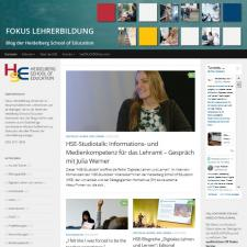 Bild HSE Blog neues Layout